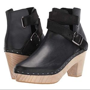 Free People Bungalow Clog Boot NWT